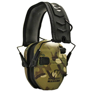 Walker's Game Ear Razor Electronic Slim Folding Earmuffs Multicam
