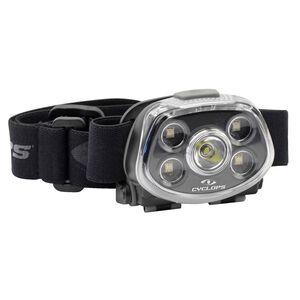 Cyclops Force XP 350 Lumens Headlamp 350 Max Lumens Cree LED Bulb 3 AAA Batteries Polymer Black