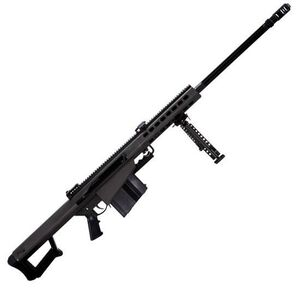 "Barrett M82A1 Semi Auto Rifle .50 BMG 29"" Fluted Barrel 10 Rounds Flip Up Iron Sights Lightweight Quick Detach Bipod Arrowhead Muzzle Brake Manganese Phosphate Finish"