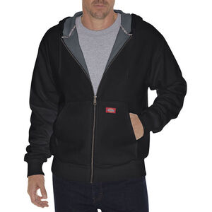 Dickies Men's Thermal Lined Fleece Hoodie XL Tall Black