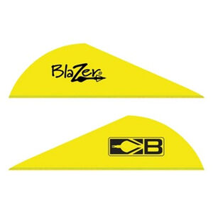 "Bohning Blazer Vanes 2"" Solid Neon Yellow 36 Pack 10831NY2"