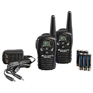Midland FRSS/GMRS 22 Channel 18 Mile 2 Radio Value Pack Black