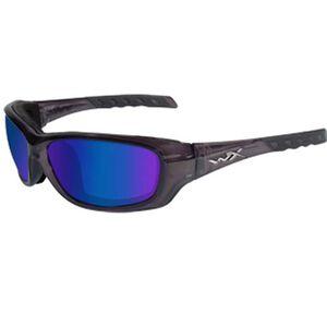 Wiley X Eyewear Polarized Sunglasses Black/Blue CCGRA04