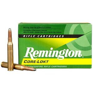 Remington Express 7mm-08 Remington Ammunition 20 Rounds 140 Grain Core-Lokt PSP Soft Point Projectile 2860fps