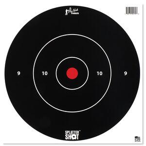 """Pro-Shot Splatter Shot 12"""" White Bull's-eye Target"""