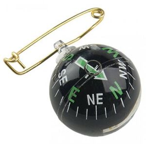 Allen Liquid Filled Pin On Compass Black
