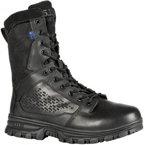 """5.11 Tactical EVO 8"""" Insulated Side Zip Boot Size 11 Regular Black 12348"""
