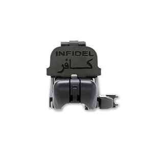 GG&G EOTech 512/552 Lens Covers Black with Infidel Engraving