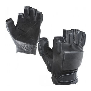 Voodoo Tactical Rapid Rappel Half Finger Gloves Med Black