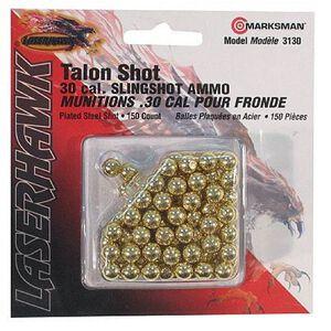 Beeman Slingshot Ammo 150 Pack Steel .30 Caliber Gold 3130