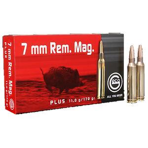 GECO 7mm Remington Magnum Ammunition 20 Rounds 170 Grain GECO Plus Projectile