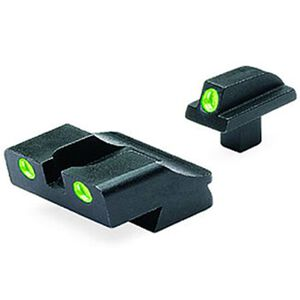 Meprolight Tru-Dot Fixed Night Sights Colt 1911 Green/Green Steel 10776