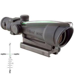 Trijicon ACOG TA11J-308G Riflescope 3.5x35 Illuminated Green Crosshair .308 Ballistic Reticle 1/3 MOA Aluminum Matte Black with TA51 Mount TA11J-308G