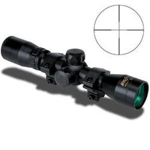 KONUSPRO 4x32mm Riflescope With Engraved Reticle, Black