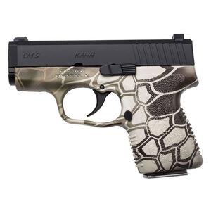"Kahr Arms CM9 Semi Auto Pistol 9mm Luger 3"" Barrel 6 Rounds Kryptek Camo Finish Black Cerakote Slide"