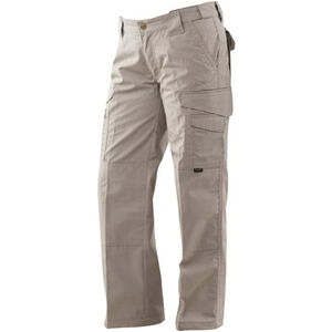Tru-Spec 24/7 Series Ladies' Tactical Pants Polyester/Cotton Rip Stop Size 20 Unhemmed Khaki 1095011