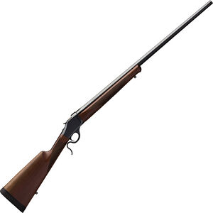 "Winchester M1885 High Wall Hunter 6.5 Creedmoor Falling Block Rifle 28"" Octagon Barrel 1 Round Walnut Stock Polished Blued Finish"