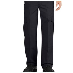 Dickies Tactical Relaxed Fit Straight Leg Lightweight Ripstop Pant Men's Waist 32 Inseam 30 Polyester/Cotton Midnight Blue LP703