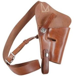"El Paso Saddlery 1942 Tanker for S&W N Frame 6-6 1/2"""", Right/Russet"
