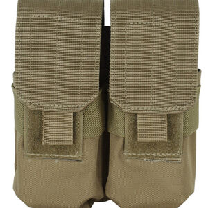 Voodoo Tactical MOLLE Compatible 30 Round AR-15 Magazine Pouch Nylon Coyote Tan 20-7331007000