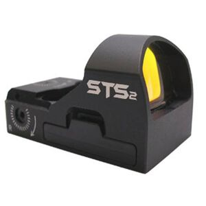 C-More Systems STS2 Small Tactical Sight Red Dot 6 MOA No Mount Black STS2B-6