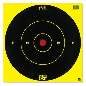 """Pro-Shot Splatter Shot 12"""" Flueorescent Bull's-eye"""