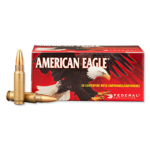 Federal American Eagle 5.7 x 28mm Ammunition 50 Rounds TMJ 40 Grain 1,655 Feet Per Second