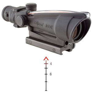 Trijicon ACOG 3.5x35 Dual Illuminated Red Chevron M193 Ballistic Reticle with TA51 Mount