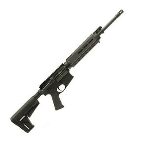 "Adams Arms P1 Semi-Automatic Piston Operated Rifle Magpul Mid-length 5.56 NATO .223 Remington 16"" Barrel 30 rounds 6-Position Collapsible Stock Black"