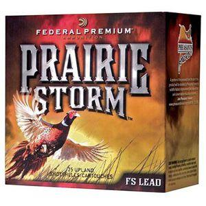 "Federal Prairie Storm 20 Gauge Ammunition 250 Rounds 2-3/4"" #4 FS Plated 1oz 1350fps"
