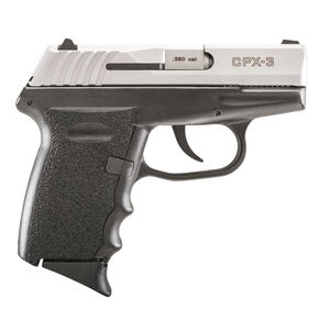 """SCCY Industries CPX-3 .380 ACP Semi Auto Handgun 3.1"""" Barrel 10 Rounds 3 Dot Sights No Manual Safety Duo-Tone Finish"""