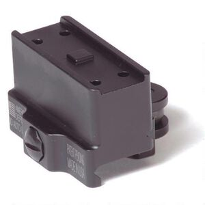 American Defense MFG Aimpoint T1/T2/H1 Micro Mount Lower 1/3 Co-Witness Height QD Auto Lock Lever Aluminum Black