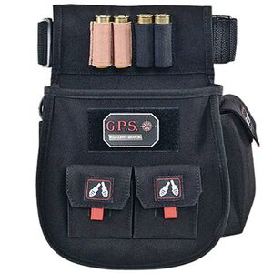 G Outdoors Deluxe Shotgun Shell Pouch Black 1094CSP