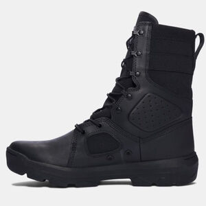 "Under Armour Performance UA FNP Men's 9"" Tactical Boot Synthetic/Textile/Rubber Size 11.5 Black"