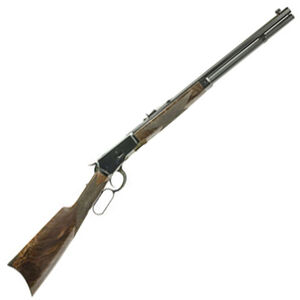 """Navy Arms Winchester 1892 .45 Long Colt Lever Action Rifle 20"""" Octagonal Barrel 10 Rounds Walnut Stock Blued Finish"""