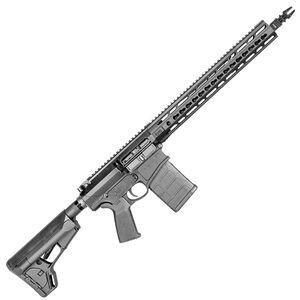 "CORE30 Tac II Semi Auto Rifle 6.5 Creedmoor 20"" Stainless Steel Barrel 20 Rounds Keymod Handguard ACS Stock Black"