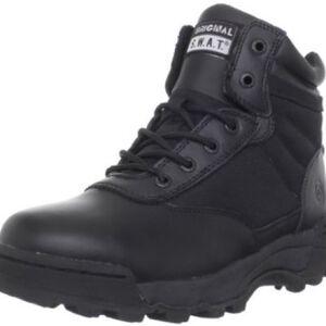 """Original S.W.A.T. Classic 6"""" Men's Boot Size 9.5 Wide Non-Marking Sole Leather/Nylon Black 115101W-95"""