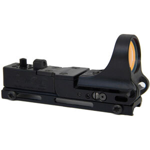 C-MORE Railway Standard Red Dot Sight 4 MOA Weaver Picatinny Mount Polymer Black RWB-4