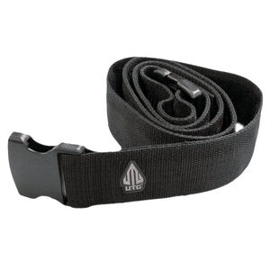 "UTG Tactical Web Belt Black 2"" Wide Adjust up to 51"" Quick Release Buckle"