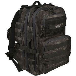 "Tru-Spec Gunny Series Tour of Duty Backpack 18""x10""x10"" Ballistic Pack Cloth Black Camo 4803000"