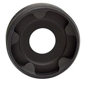 RUGGED FRONT CAP 9MMRugged Suppressors Front End Cap for Obsidian 45 9mm Caliber Diameter Steel Matte Black