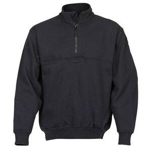 Elbeco Shield Job Shirts Self Collar Size 2XL Tall Cotton Blended Fleece Midnight Navy