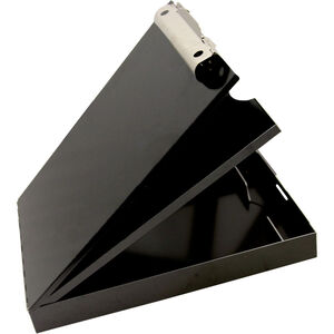 Saunders Cruiser-Mate™ Storage Clipboard Letter/A4 Size, Black