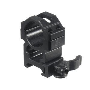 Leapers UTG High Profile Picatinny QD Rings 22mm Wide Matte Black RQ2W1204