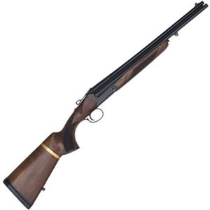 "Charles Daly Triple Threat 12 Gauge Triple Barrel Break Action Shotgun 18.5"" Barrels 3"" Chambers 3 Rounds Extractor 2 Piece Walnut Stock Blued"