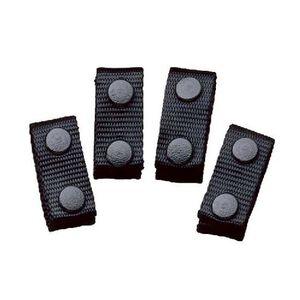DeSantis Nylon Belt Keepers Black 4 Pack