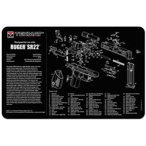 "TekMat Ruger SR22 Armorer's Mat Neoprene 11""x17"""