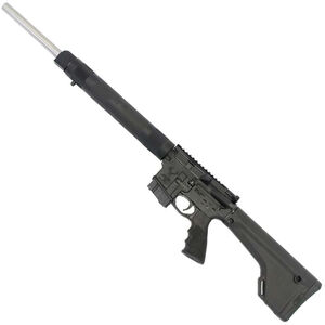 "Stag Arms STAG-15 Super Varminter Left Hand Semi Auto Rifle 6.8 SPC II 20.77"" Stainless Steel Heavy Barrel 10 Rounds Hogue Free Float Handguard Magpul Fixed Rifle Stock Black"