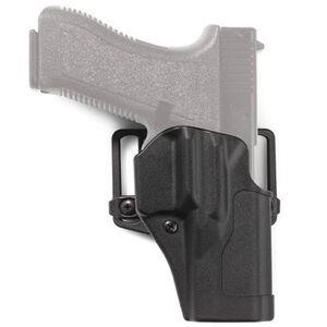 BLACKHAWK! Sportster Standard Paddle Holster GLOCK 17, 22, 31 Left Hand Black 415600BK-L