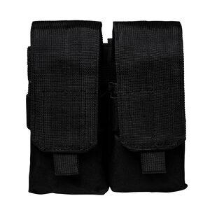 NcSTAR AR-15/AK-47 Quad Magazine Pouch Flap Closure MOLLE Compatible Nylon Black